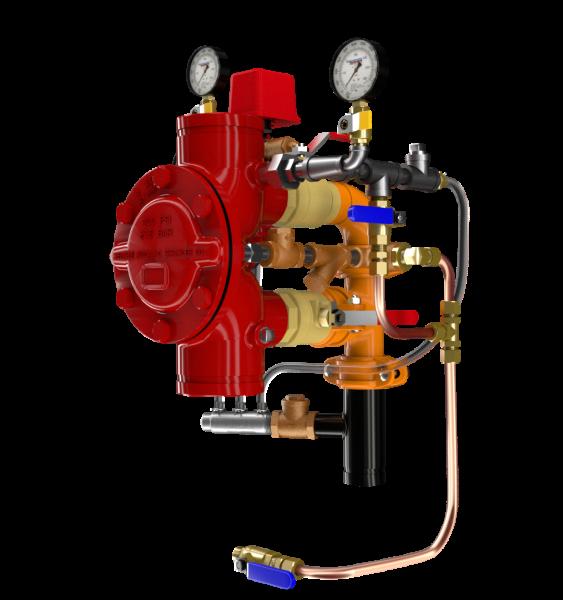 Product image for DDV Diaphragm Deluge Valve Electric Actuation, Wet Pilot, Dry Pilot, and Dry Pilot Pressure Regulating Trims